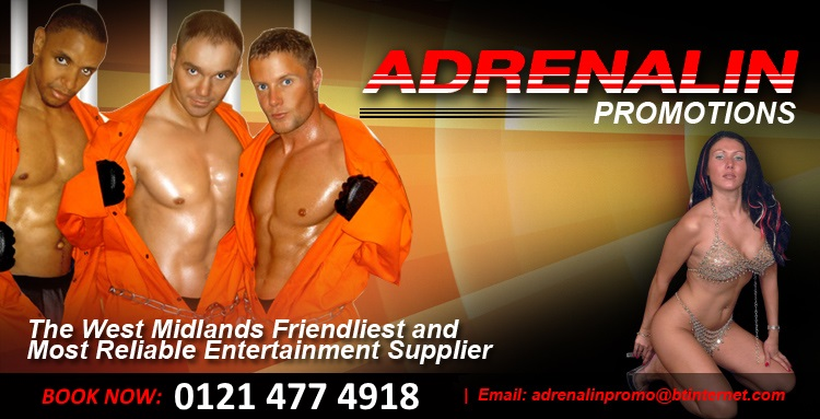 Adrenalin Promotions  |  The West Midlands Friendliest and Most Reliable Entertainment Supplier